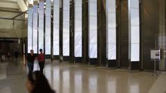 Public Art - LAX Great Hall Stock Footage