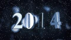 Year 2014 Stock Footage