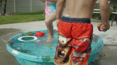 Kiddie Pool 9 Stock Footage