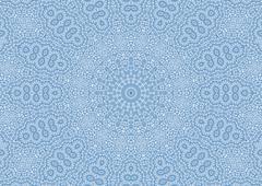 Abstract openwork pattern Stock Illustration