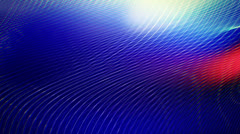 (Loop) White curves wavy moving on deep blue background. Stock Footage