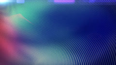 (Loop) White lines on soft blue background. Stock Footage