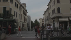 Treviso, Italy - old city _3 Stock Footage