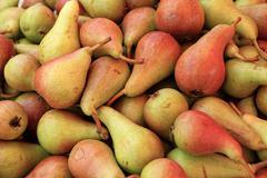 Organic Baby Pears Stock Photos