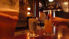 Jazz Bar Happy Hour Cheers Stock Footage