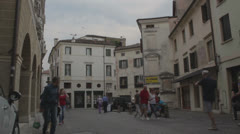 Treviso, Italy - old city Stock Footage