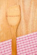 Wooden kitchen utensil Stock Photos