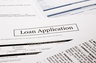 Stock Photo of loan application