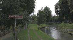 Treviso, Italy - Penisola del paradiso Stock Footage