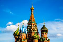 Stock Photo of St Basils cathedral