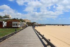 praia da rocha, algarve, portugal - stock photo