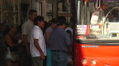 Public transportation Hermosillo Stock Footage