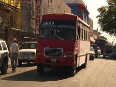 Public transportation Hermosillo Stock Footage