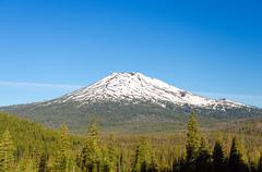 Mount Bachelor - stock photo