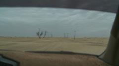 Desert hiekkadyynejä ajo (5) Abu Dhabi Arkistovideo