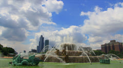Buckingham fountain Stock Footage
