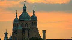 Ukrainian church Stock Footage