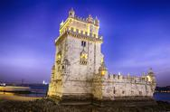 Stock Photo of belem tower