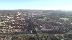 East Rand Aerial Helicopter shot, South Africa NTSC Stock Footage
