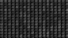 Gray cement square grid  & block brick matrix wall. Stock Footage