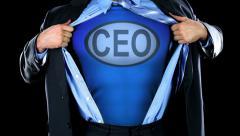 Super CEO Stock Footage