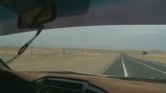 Desert sand dune driving (7) Abu Dhabi Stock Footage