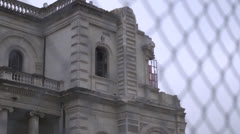 Christchurch Earthquake damage 7 Stock Footage