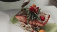 Gourmet Food Stock Footage