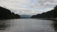 Lake Merwin on the Lewis River in Washington State 1080p Stock Footage