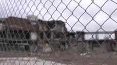 Christchurch Earthquake damage 18 Stock Footage