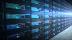 Computer servers Stock Footage