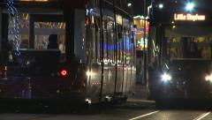 Blackpool Trams x2 Stock Footage