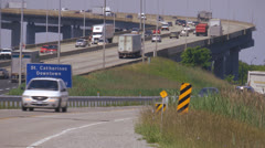 Canadian Highway Stock Footage