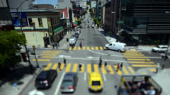 Time Lapse of Traffic In Downtown San Francisco - 4K Stock Footage