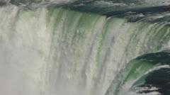 Horseshoe Falls Slow Motion - stock footage