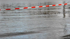Cut-off at high water Stock Footage