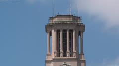 Texas University Tower 1 Stock Footage