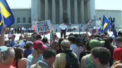 Gay Marriage - Supreme Court Arkistovideo