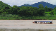 Stock Video Footage of Boat on the River