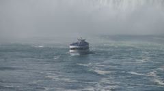 Maid Of The Mist Tour Stock Footage