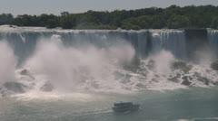 Niagara American Falls Stock Footage