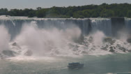 Stock Video Footage of Niagara American Falls
