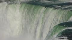 Niagara Falls Horseshoe Crest Line Stock Footage