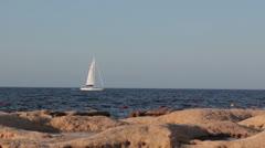 Maltese impressions - Sailboat Stock Footage