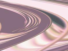 Abstract grey, pink, and white spiral Stock Illustration