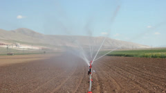 Farm irrigation systems Stock Footage