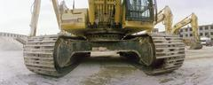 Stock Photo of Bulldozer, close-up