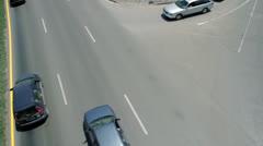 Car Traffic Europe Stock Footage