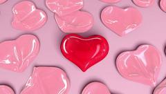 Balloon Herat, the most important love - stock footage