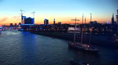 Hamburg Port Celebration - 14 Stock Footage